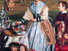 Lady Fairbairn with her Children – William Holman Hunt