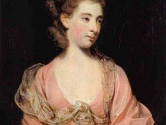 Lady in Pink, Said to be Mrs. Elizabeth Sheridan – Joshua Reynolds