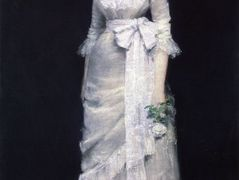 Lady in White Gown – William Merritt Chase