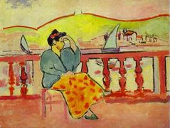 Lady on a Terrace  – Henri Matisse