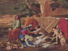 Lamentation over the Body of Christ – Nicolas Poussin