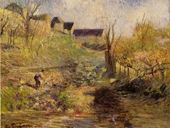 Landscape at Osny – Camille Pissarro