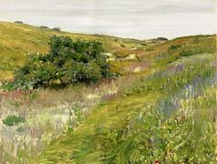 Landscape, Shinnecock Hills — William Merritt Chase