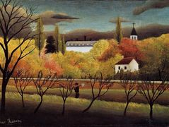 Landscape with Farmer – Henri Rousseau