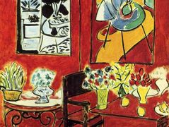 Large Red Interior – Henri Matisse