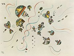 Last watercolour –  Wassily Kandinsky
