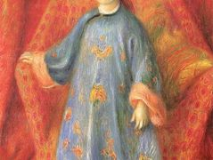 Lenna, the Artist's Daughter, in a Chinese Costume – William James Glackens