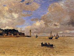 Lighthouse at the Hospice – Claude Monet