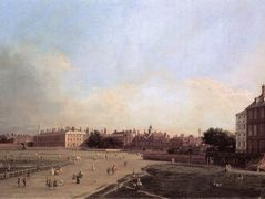 London: the Old Horse Guards from St James's Park – Canaletto