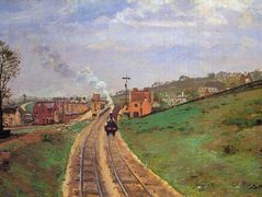 Lordship Lane Station, Dulwich – Camille Pissarro