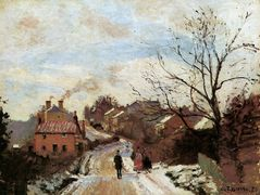Lower Norwood – Camille Pissarro