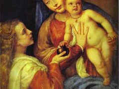 Madonna and Child with Mary Magdalene – Titian