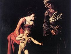 Madonna and Child with St. Anne – Caravaggio