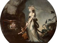 Mamillius Conjuring up Sprites and Goblins for His Mother, Hermione – Henry Fuseli