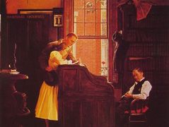 Marriage License – Norman Rockwell