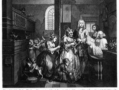 Married to an Old Maid – William Hogarth