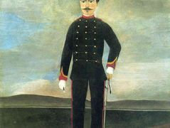 Marshal des Logis Frumence Biche of the 35th Artillery – Henri Rousseau