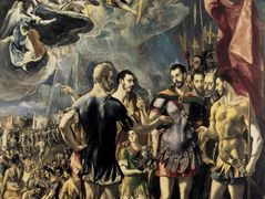 Martyrdom of St. Maurice and His Legions — El Greco