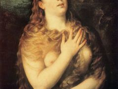 Mary Magdalen Repentant — Titian