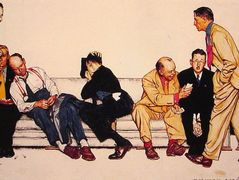 Maternity Waiting Room – Norman Rockwell