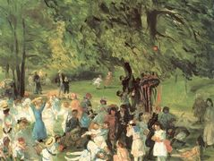 May Day in Central Park – William James Glackens
