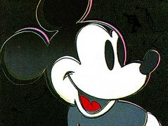 Mickey Mouse — Andy Warhol