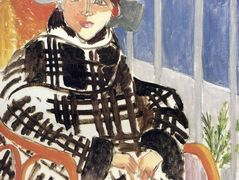 Mlle Matisse in a Scotch Plaid Coat – Henri Matisse