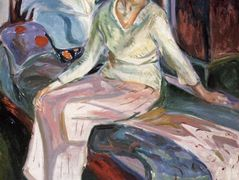 Model on the Couch — Edvard Munch