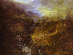 Morning Amongst the Coniston Fells, Cumberland — William Turner
