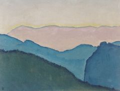 Mountain ranges – Koloman Moser