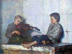 Music Lesson – Nikolay Bogdanov-Belsky