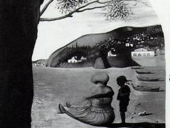 Mysterious Mouth Appearing in the Back of My Nurse — Salvador Dali
