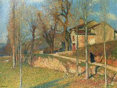 Near Colliure in Twilight – Henri Martin