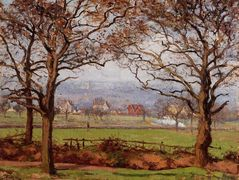 Near Sydenham Hill, Looking towards Lower Norwood – Camille Pissarro