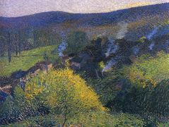 Night at the Chaumier – Henri Martin