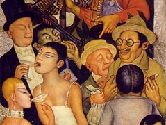 Night of the Rich – Diego Rivera