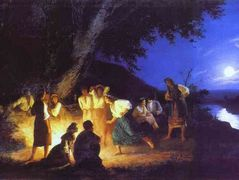 Night on the Eve of Ivan Kupala – Henryk Siemiradzki