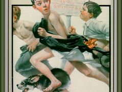 No Swimming – Norman Rockwell