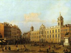 Northumberland House – Canaletto
