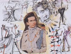 "Drawing For ""Bacchanale"": Ludwig II Of Bavaria – Salvador Dali"