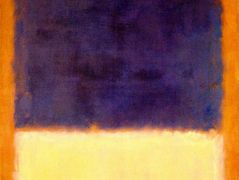 Red, Orange, Tan and Purple  – Mark Rothko