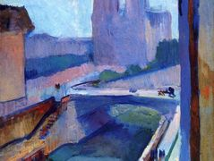 A Glimpse of Notre-Dame in the Late Afternoon – Henri Matisse