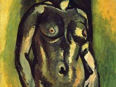 Nude (Black and Gold) – Henri Matisse