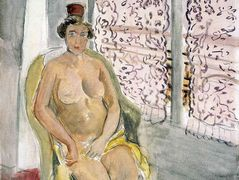 Nude In A Chair – Henri Matisse