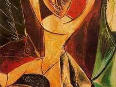 Nude with raised arms (The Avignon dancer) – Pablo Picasso