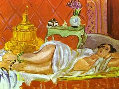Odalisque, Harmony in Red – Henri Matisse