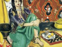 Odalisque sitting with board – Henri Matisse