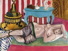 Odalisque with Green Scarf — Henri Matisse