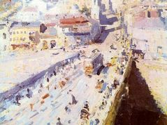 Old Moscow – Konstantin Korovin