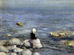 On the Shore of the Black Sea – Konstantin Korovin